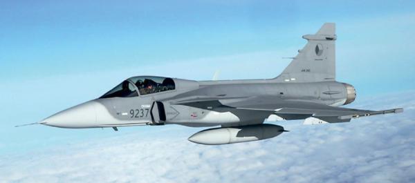 Figure 1.The JAS 39 Gripen fighter aircraft